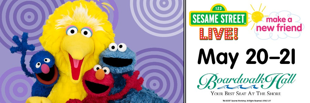 Sesame Street Live! Make A New Friend