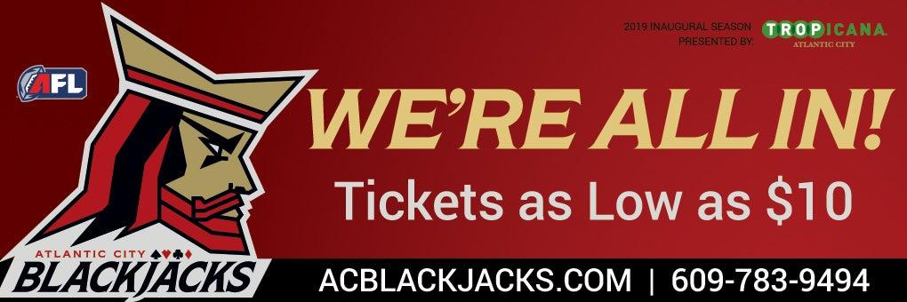Atlantic City Blackjacks v. Baltimore
