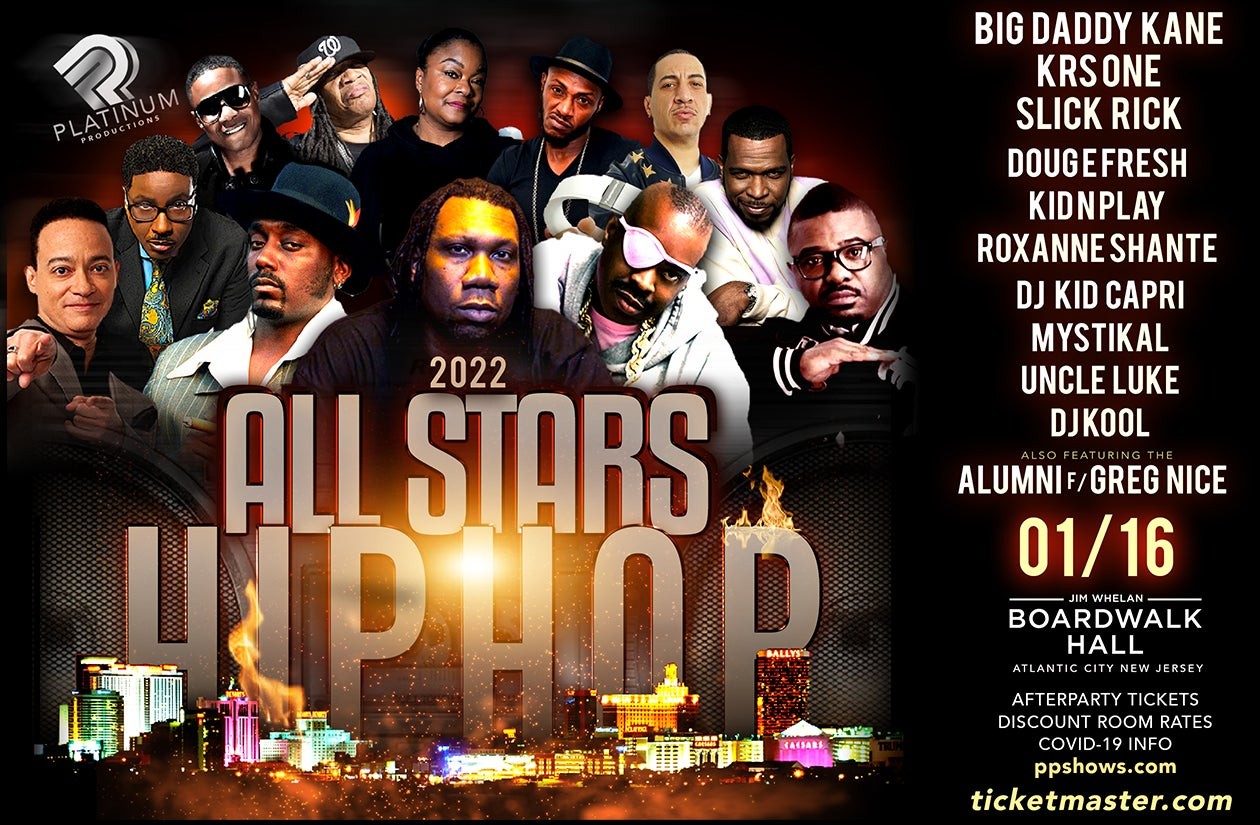More Info for All Stars of Hip Hop ft. Big Daddy Kane, KRS-ONE & More
