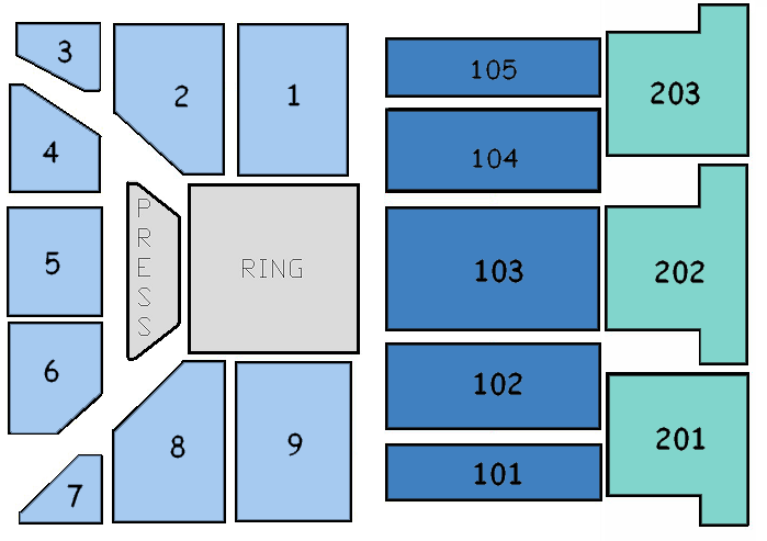 Ballroom Boxing Setup
