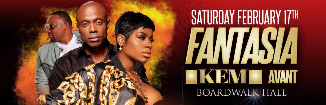 Fantasia, Kem & Special Guest Avant