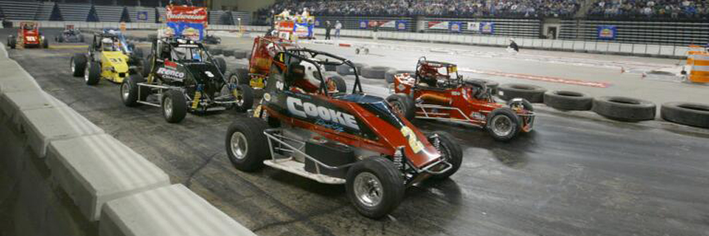 Indoor Midget Car Racing