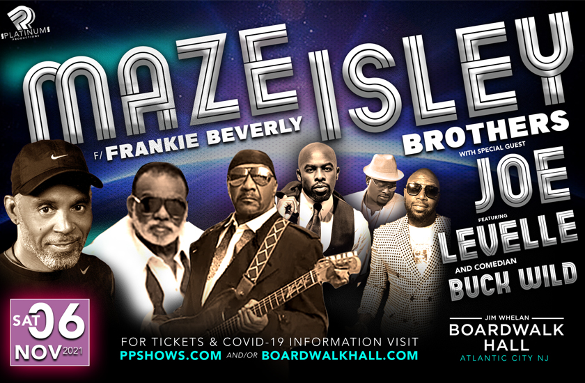 More Info for Maze Featuring Frankie Beverly, The Isley Brothers, And Joe
