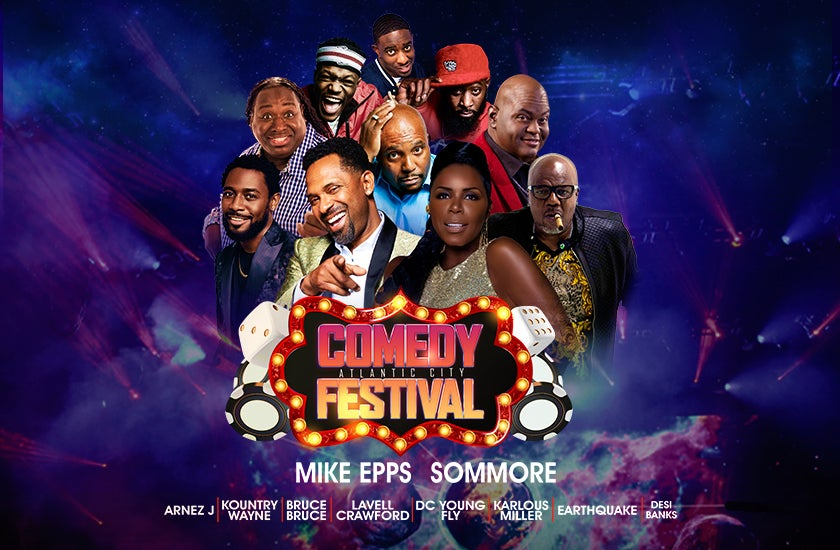 More Info for Atlantic City Comedy Festival