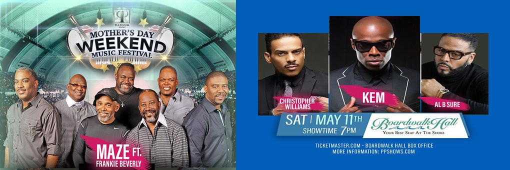 Mother's Day Music Fest w/ Maze ft. Frankie Beverly and KEM
