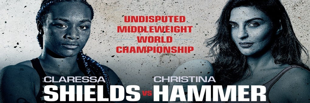 Claressa Shields and Christina Hammer Undisputed Women's Middleweight World Championship