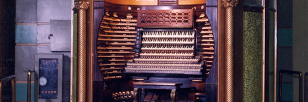 Free Behind the Scenes Organ Tour- Wednesdays at 10 AM